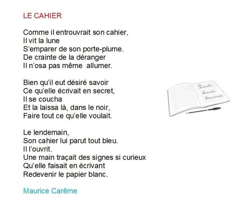 Le Cahier De Maurice Careme