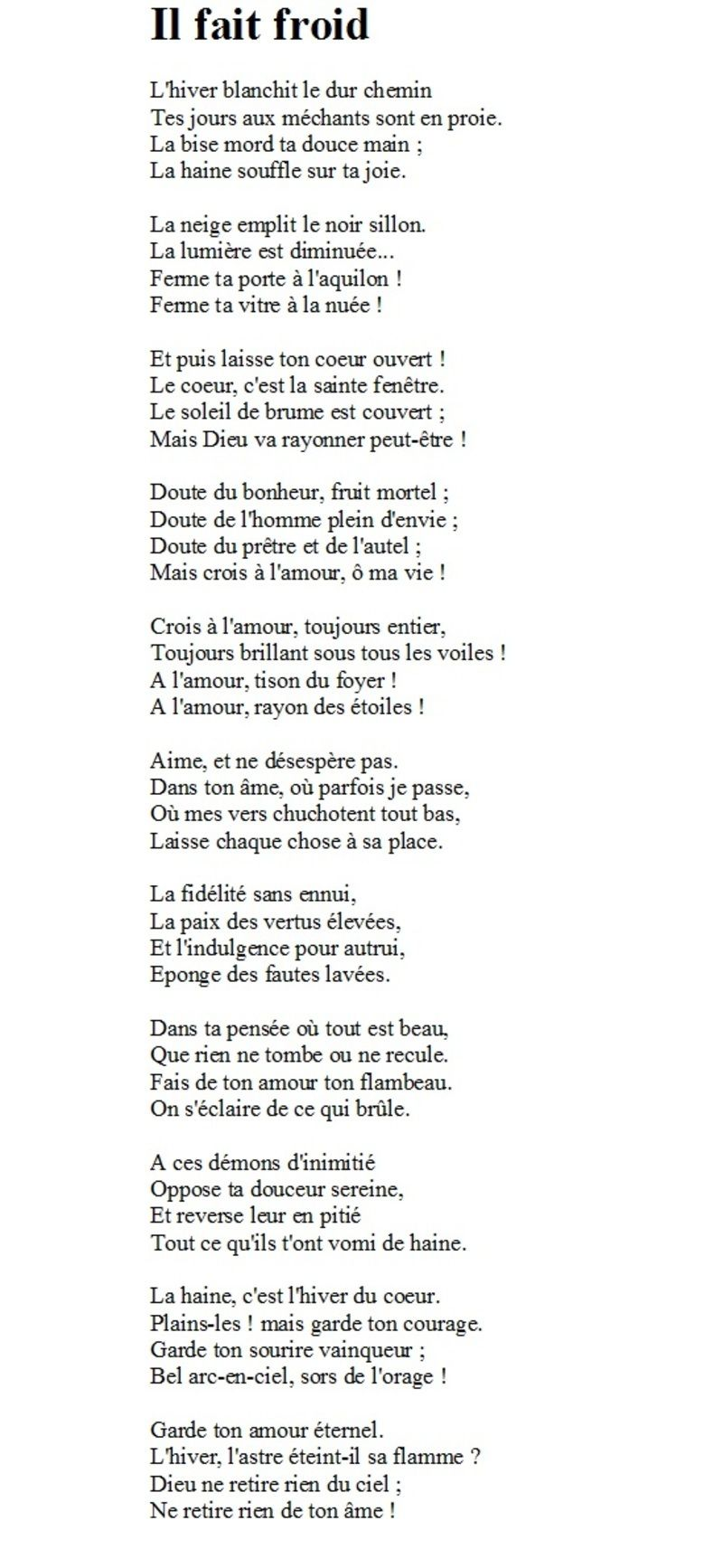 Ebook Victor Hugo Poeme Amour